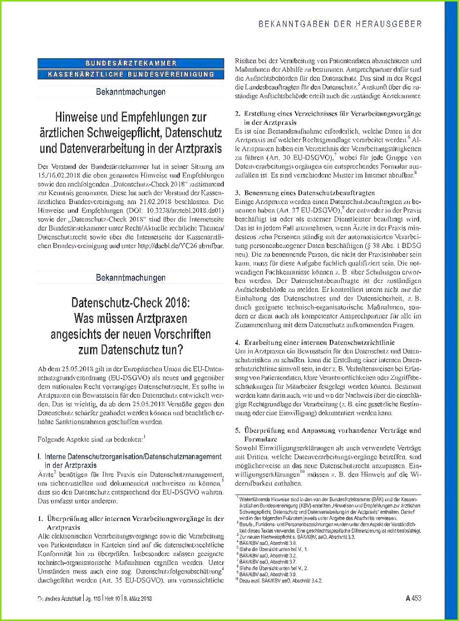 Datenschutz Verordnung Professionelle Vorlage Nutzen Datenschutzverordnung Vorlage Fabelhafte Hinweise Und Empfehlungen Zur ärztlichen Schweigepflicht
