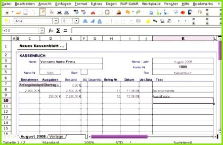 Datev Kassenbuch Excel Dann Anleitungen Steuerbuero Kassenbuch [riedinger U Partner Gdbr]