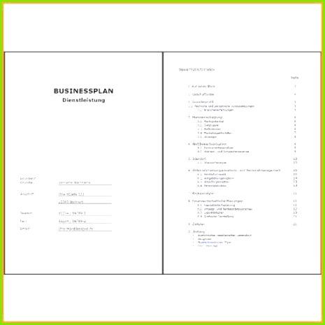 Deckblatt Businessplan Neues 46 Inspirierend Fotos Businessplan Vorlage Ihk