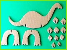 Vorlagen basteln Decoration Creche Dinosaur Crafts Dinosaur Birthday Party Cardboard Crafts Animal