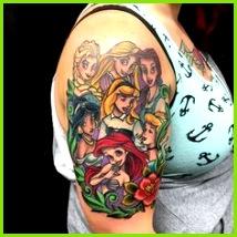 Disney Tattoos Diese Liebe geht unter Haut Top 9 Liebe Disney Tattoo