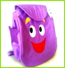 Dora Backpack with map and stars by CreativePlayZoem on Etsy $39 00 Dora Backpack Diy