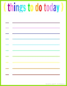 Free Printable Planner PROJECT ORGANIZE 2014