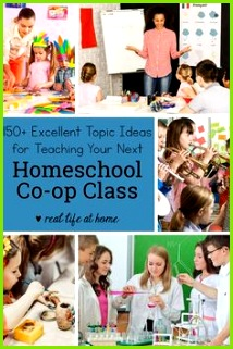 150 Excellent Topic Ideas for Your Homeschool Co op Classes