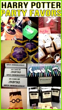 Harry Potter Party Favor Ideas
