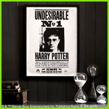 HARRY POTTER™ Framed Art Undesirable Wanted A statement making print featuring