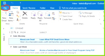 Screenshots for How to Create an Email Signature in Outlook 2016