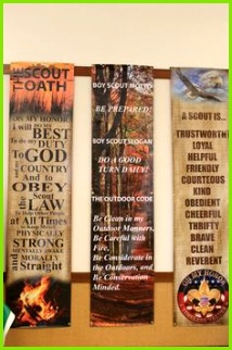 """Eagle Scout Court of Honor Banners"" Designed be me for my son s Eagle Court"
