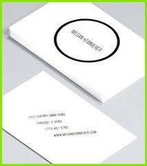 Anpassbare Visitenkarten Designvorlagen