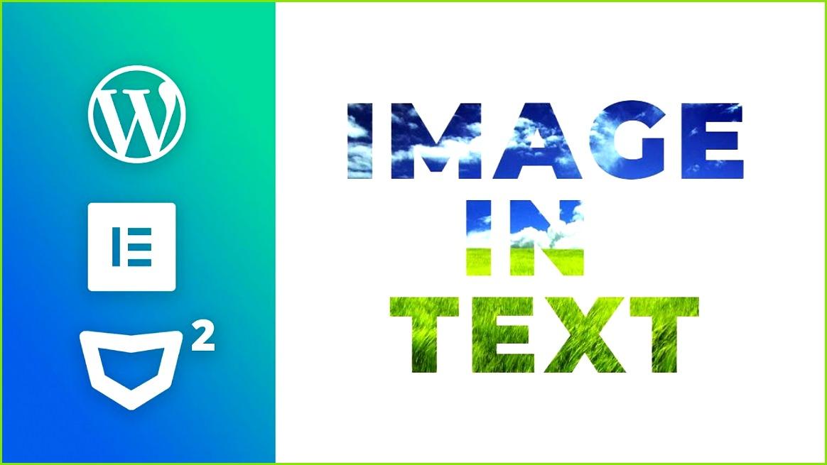 Elementor Tip Image inside Text Elementor Tutorial