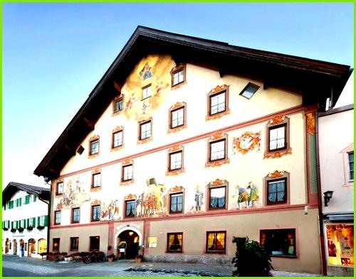 Post Hotel Post Hotel Mittenwald Eingang über Obermarkt
