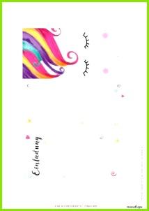 Einhorn Einladung zum Ausdrucken Einladungskarten Zum Ausdrucken Einhorn Einladungskarten Einladungskarten Kindergeburtstag Einhorn Pferd