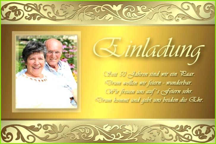 Text Einladung Goldene Hochzeit Kostenlos Einladungskarten Goldene