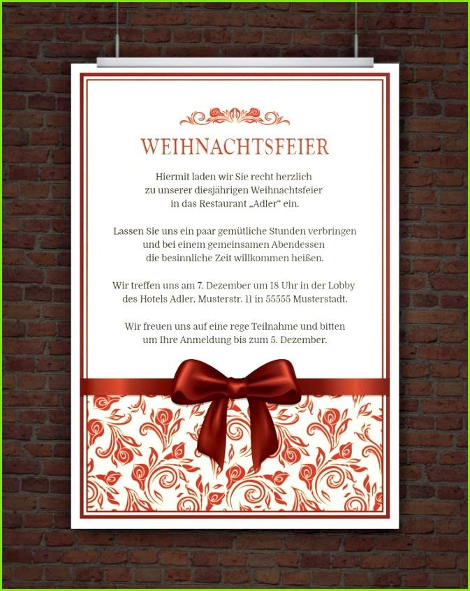 Kindergeburtstag Einladung Drucke Selbst Word Vorlage Einladung Weihnachtsfeier Kostenlos 28