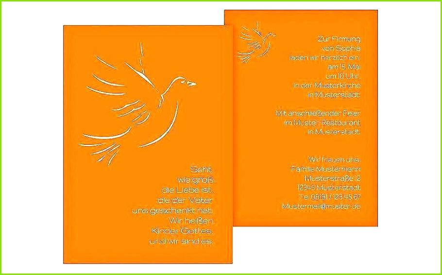 Einladungskarten Firmung Vorlagen Gratis Neu Firmung Einladung Vorlage Kostenlos – Naturesetfo