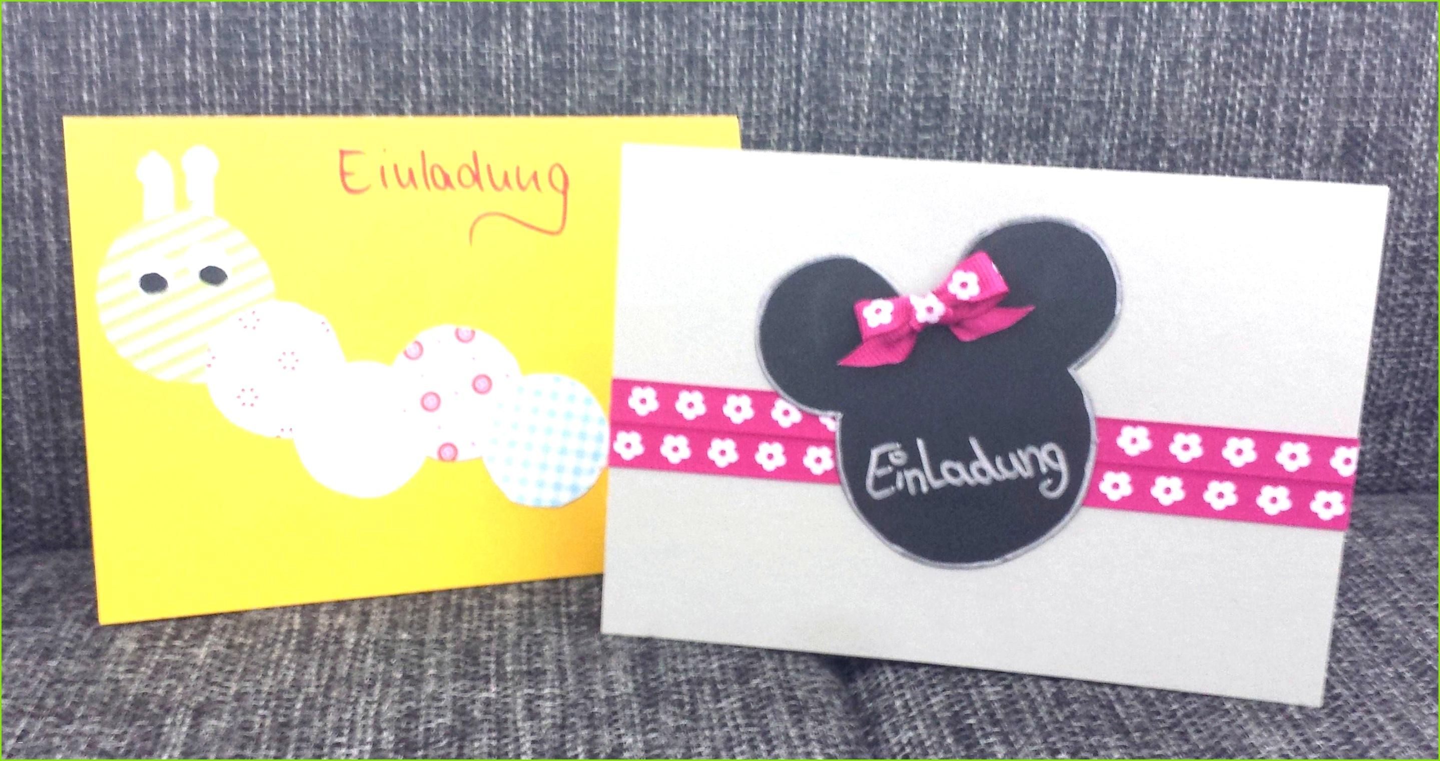 Einladungskarten Selber Machen Best originelle Einladung Kindergeburtstag Vorlagen Design