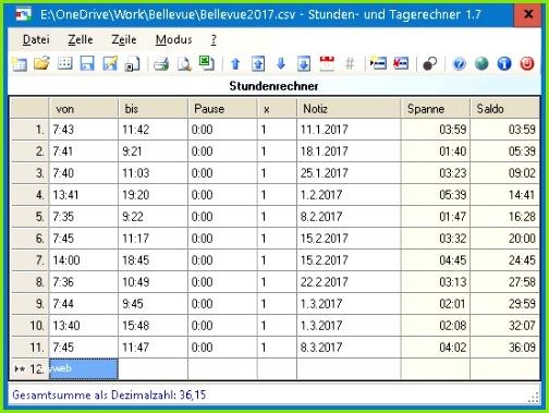 Excel Arbeitszeitnachweis Vorlagen 2017 Fabelhaft Azeme