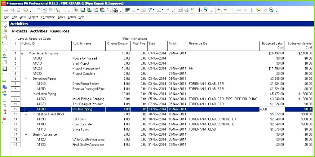 Cold Call Log Excel Template