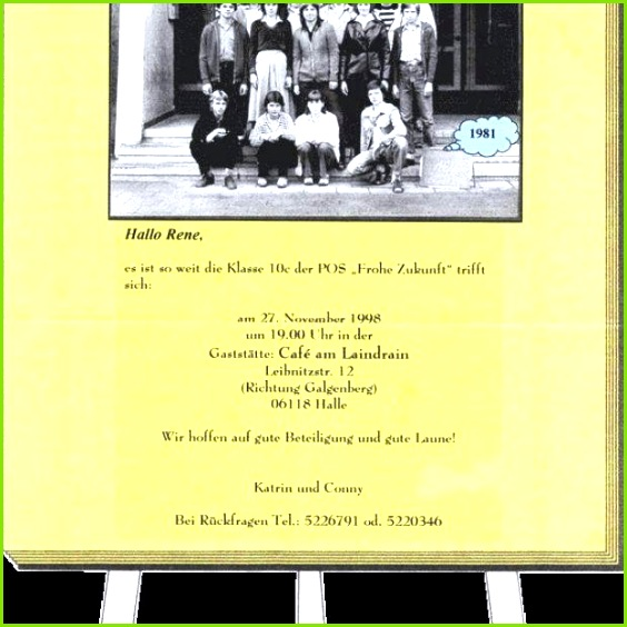 Kindergeburtstag Einladung Text Lustig Schon originelle Einladung Klassentreffen Oder Klassentreffen