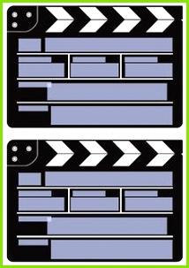 einladung filmklappe druckvorlage