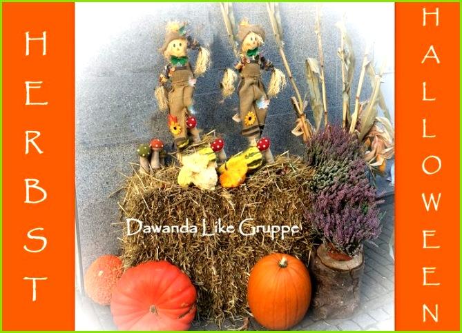 Handgemachte Produkte der Dawanda Likes Gruppe für Herbstzeit und Halloween