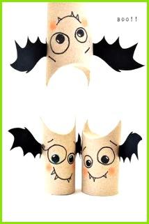 5min craft Toilet Roll Bat Bud s