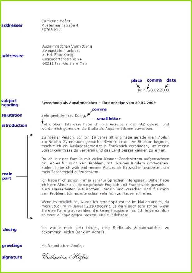 Formelle Einladung Vorlage Inspirierend Brief Englisch Muster