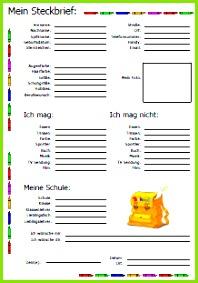 Schule Freundebuch Seiten zum Ausdrucken Drucken