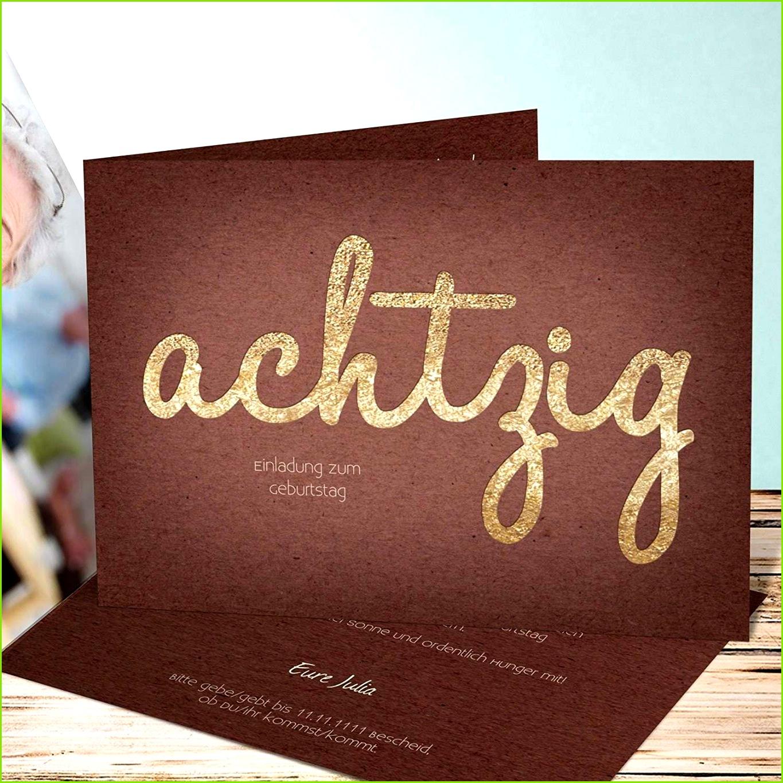 26 Geburtstag Inspirational Einladungskarten 70 Geburtstag Gestalten Genial Einladungskarte 80