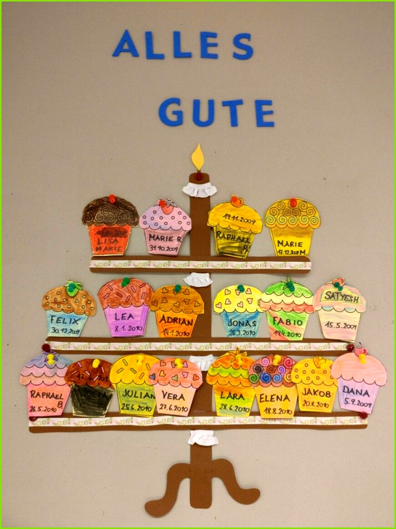 Geburtstagskalender Geburtstagskalender Geburtstagskalender Grundschule