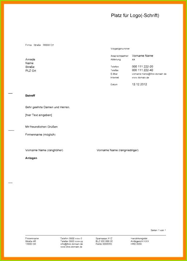 16 Briefkopf Design Vorlagen