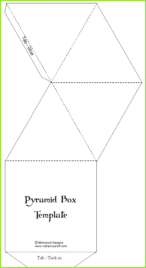 Box templates on Pinterest