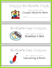 Printable Mother s Day Coupon Book Gutscheine Vatertag Bastelarbeiten Muttertagskarten Muttertagsgeschenke Mama Und