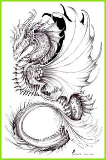 Einzigartige Zeichnungen Fabelwesen Drachen Bilder Blumen Zeichnen Tattoo Vorlagen Tattoo Ideen