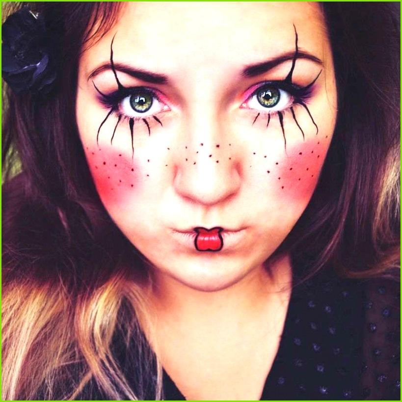 Halloween Schminken Vorlagen Fasching Make Up Im Letzten Moment Clown Schminken Anleitung Halloween Schminken Vorlagen