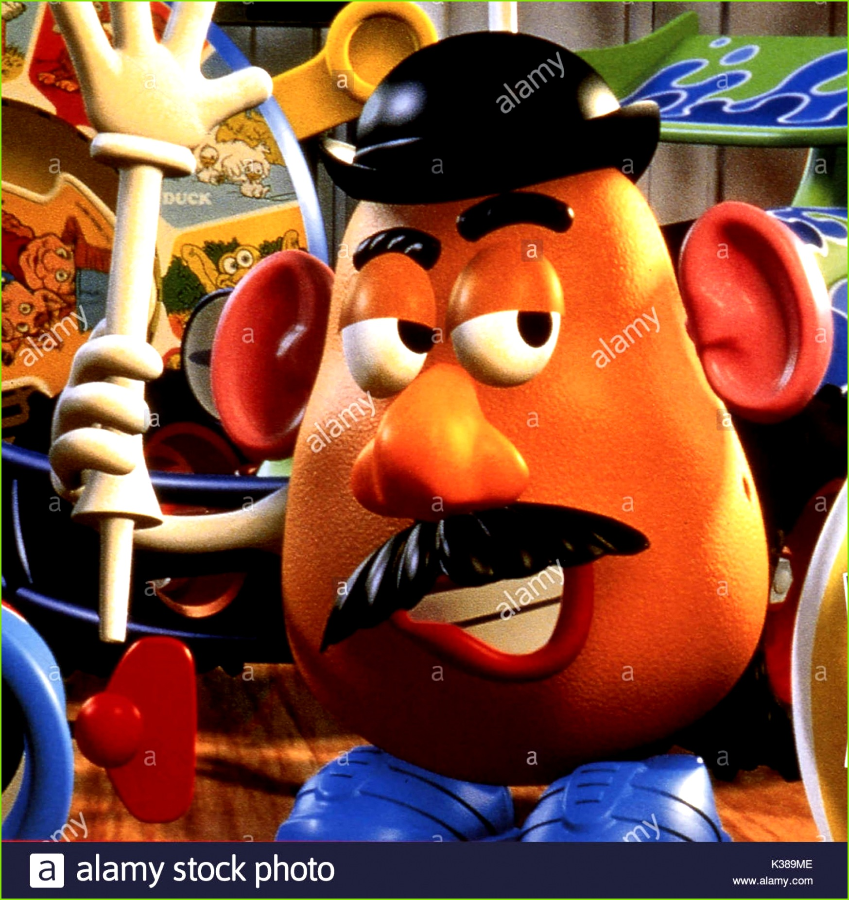 014 Malbuch Toy Story Copyright Walt Disney Herr Kartoffelkopf Bild Von Der Ronald Grant Archiv Datum