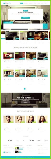 Real Estate Responsive WordPress Theme 2015 Homepage Vorlagen Immobilien Webseite