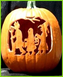 Halloween Klasse Party Halloween Kürbisse Halloween Dekorationen Halloween Designs Geschnitzte Kürbisse