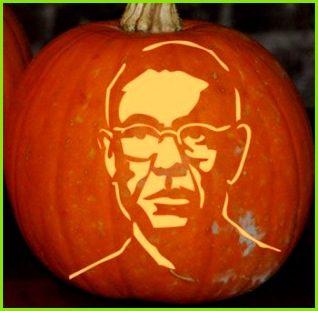 Gus Fring Jack O Lantern pattern now if only they had a Heisenberg pattern Marisa Jefferson would be all set