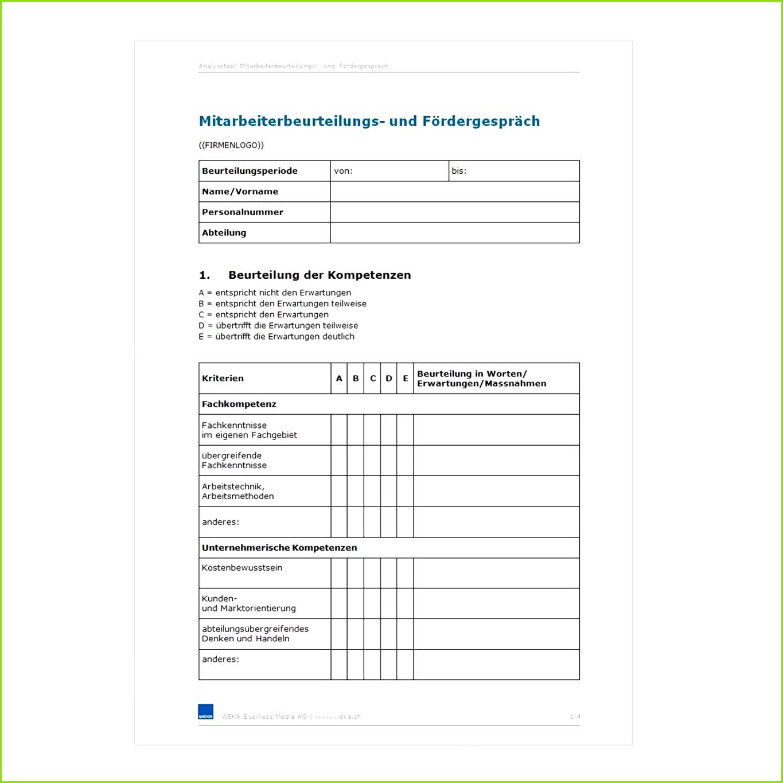 Jahresgespräch Mitarbeiter Vorlage Erstaunlich Vorlage Mitarbeiterbeurteilungs Und Fördergespräch