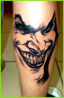 Joker Tattoos Design e off Cool Clown Tattoo