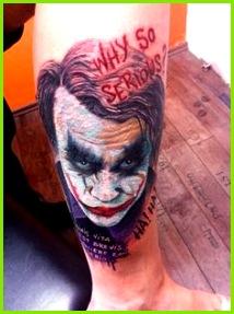 TAT Batman Joker Tattoo Joker Tattoos Heath Ledger Joker Cool Tats Tattoo