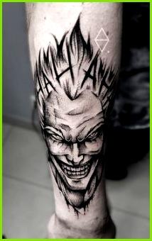 Joker tattoo by Szymon Olech Handgelenk Tattoo Vorlagen Tattoo Ideen Dope Tattoos