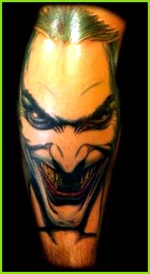 Joker tattoo by dzsedi on DeviantArt