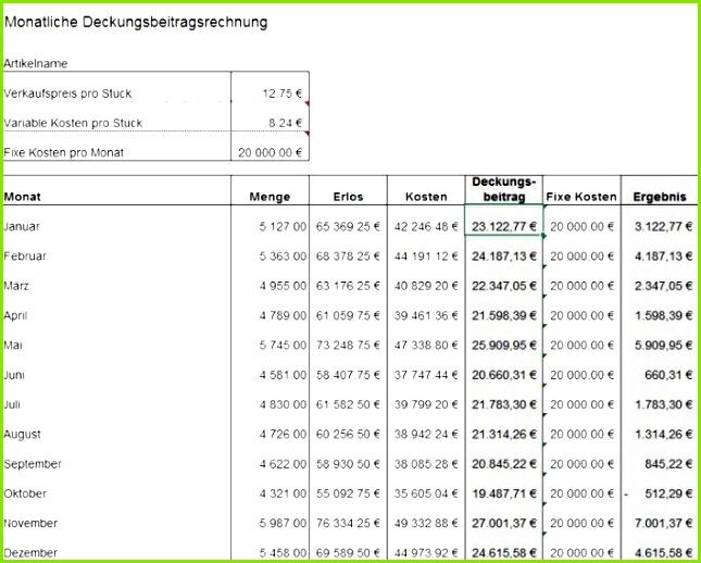 Preiskalkulation So Berechnen Sie Ihren Verkaufspreis Excel