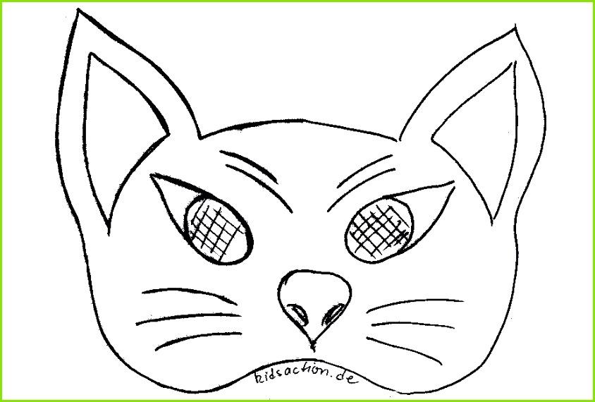 Fein Katzenmaske Vorlage Galerie Dokumentationsvorlage Beispiel