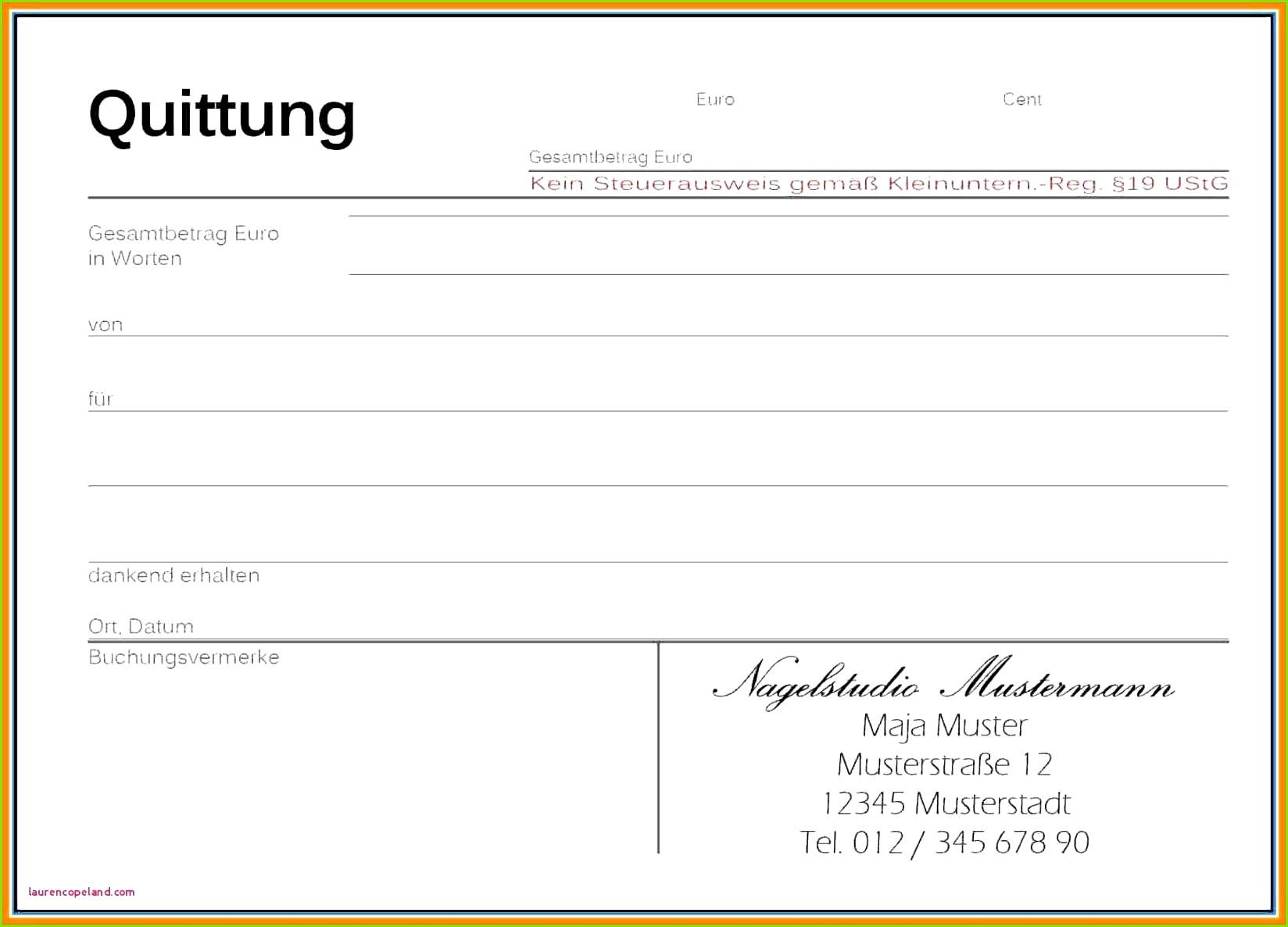 Kaufvertrag Fahrrad Vorlage Word Quittung Miete Vorlage 2018 08 20t01 20