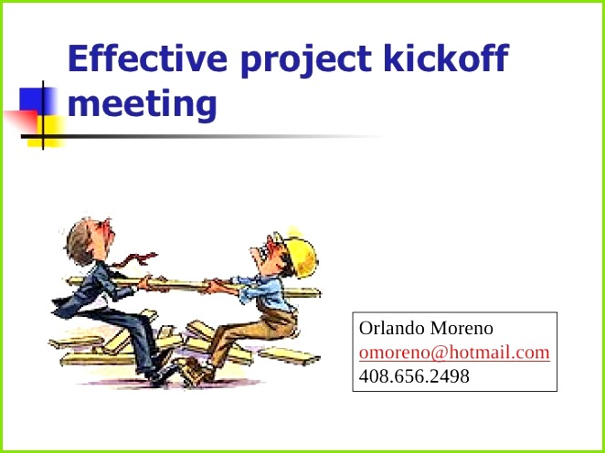 Project Kickoff Meeting Template Awesome 3 Lecture Slides