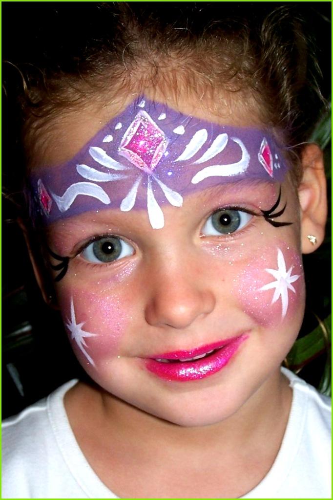 Kinderschminken Vorlagen für Fasching & Halloween Ideen und Tipps für tolle Gesichtsbemalung