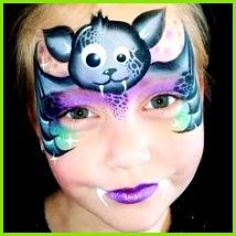 Kinderschminken Halloween Geschminkt Fasching Schminken Kinder Schminken Verkleidung Masken Malerei